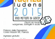 Faenza. Torna il Faenza Ludens 2015, due giorni di divertimento con le Ludoteche della Romagna Faentina.