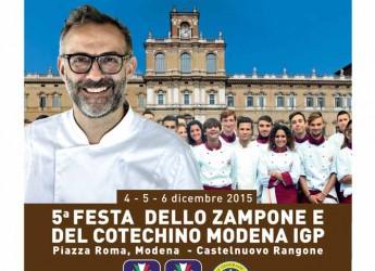 Modena. 'Vieni a Modena con Me', Massimo Bottura presenta la quinta edizione della Festa dedicata allo Zampone e al Cotechino Modena IGP.