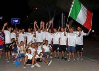 Ravenna. Sono iniziati prima volta in Italia i campionati europei e Africa di cable wakeboard. Iscritti 250 atleti da 21 paesi.