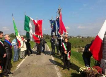 Lugo. La città ricorda con una cerimonia al cippo sul Senio il 71° anniversario dell'eccidio nazifascista.