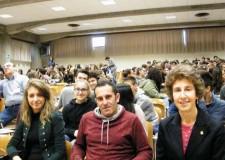 Sant'Agata sul Santerno. Lo scrittore Cristiano Cavina ha incontrato gli studenti delle scuole medie.