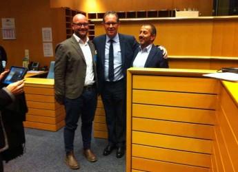 Bellaria Igea Marina. La città sbarca al Parlamento Europeo. Presentati a Bruxelles i risultati del progetto Ecoadria-Fisherman.
