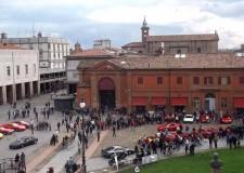 Lugo. Festa del Cavallino Rampante, le 'rosse' danno spettacolo in centro. Il premio Baracca al personale dell'ospedale.