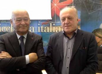 Rimini. Ecomondo. Il ministro dell'ambiente Gian Luca Galletti ospite dei saloni di Rimini Fiera dedicati alla sostenibilità ambientale.
