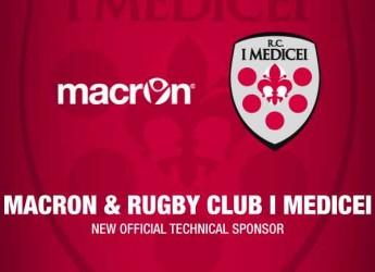 Bologna. E' ufficiale: Macron è il nuovo sponsor tecnico del Rugby Club I Medicei per tre anni.