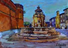 Cesena. Apre i battenti la mostra dedicata al pittore cesenate Luciano Boschi alla galleria dei Palazzo del Ridotto.