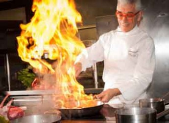 Bagno di Romagna. Lo chef Paolo Teverini protagonista per Cheftochef al grande evento MotadellaBò.