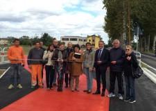 Cesena. Inaugurato il nuovo tratto di pista ciclabile su via Dismano. Ora si potrà pedalare in sicurezza.