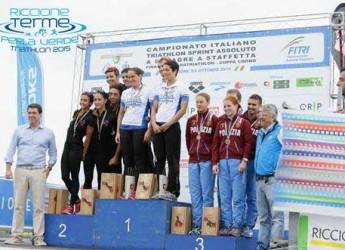 Riccione. Grandi numeri per il Campionato Italiano di Triathlon sprint e staffetta che si è disputato nella perla.