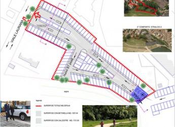 Rimini. Progetto Tiberio. Iniziati i lavori per 101 nuovi posti auto a servizio del Borgo San Giuliano e del Centro storico.