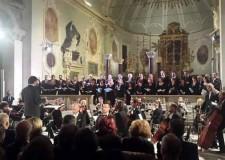 Ravenna. Concerto per la commemorazione dei Defunti alla Basilica di San'Apollinare Nuovo.
