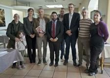 Lugo. Impresa Comune. Il sindaco Davide Ranalli va visita al ristorante pizzeria Tatì.