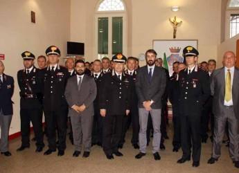 Lugo. Il Generale Carmine Adinolfi in visita al comando Compagnia carabinieri di Lugo. La 'prima' di un comandante interregionale.