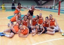 Forlì. Le ragazze della Volley 2002 incontrano gli studenti del liceo scientifico 'Fulcieri Paulucci di Calboli'.