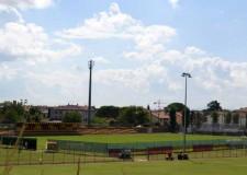 San Mauro Pascoli. Nuovo campo sportivo Macrelli pronto. Arriva anche l'ok dal Coni. Domenica la prima partita della Sammaurese contro il Ravenna.