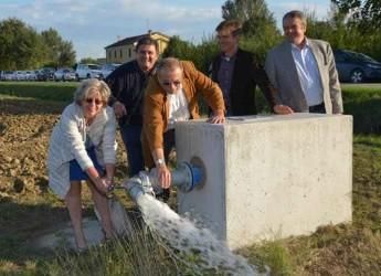 Ravenna. Inaugurato il nuovo impianto di irrigazione a servizio del territorio di Filetto, Roncalceci e Pilastro.