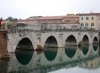 Rimini. L'Università di Braunshweig studia ai 'raggi X' il ponte di Tiberio per scoprire le tecniche costruttive.