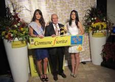 Cervia. Comuni Fioriti. La Città di Cervia ha vinto i 'Quattro fiori Oro' il massimo riconoscimento.