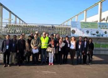 Rimini. Santa Giustina. Al depuratore visita illustre di imprenditori cinesi e di una rappresentanza del Ministero dell'ambiente.