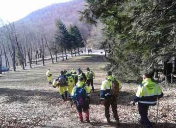 Cesena. I volontari della Protezione Civile si sono addestrati a cercare persone disperse sul monte Fumaiolo.