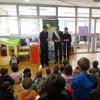 Cesena. Inaugurato il 27° impianto fotovoltaico nelle scuole cesenati. Taglio del nastro alla materna di Case Finali.
