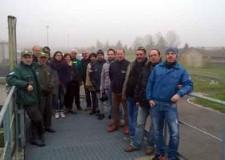 Cesena. Ambiente. Guardie ecologiche volontarie in visita al Depuratore di Cesena.