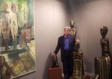 Lugo. Le sculture di Luciano Navacchia in mostra alle Pescherie della Rocca con la mostra 'Remote figure presenti'.
