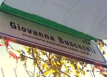 Lugo. Intitolata all'animalista Giovanna Buscaroli la strada che conduce al canile di Bizzuno.