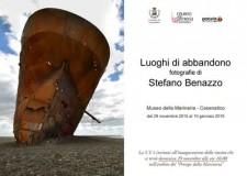 Cesenatico.Al Museo della Marineria la mostra fotografica dedicata a navi abbandonate e relitti di Stefano Benazzo.