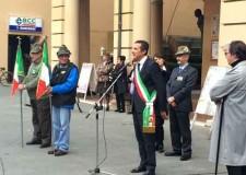 Massa Lombarda. La città ha celebrato la Giornata dell'Unità d'Italia a 70 anni dalla fine della seconda Guerra Mondiale.