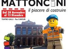 Rimini. La città invasa dai Lego. La mostra 'Mattoncini' fino a 13 dicembre al Teatro Galli.