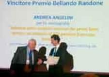 Lugo. Il premio 'Bellando Randone' è andato a Andrea Angelini, medico dell'ortopedia di Lugo.