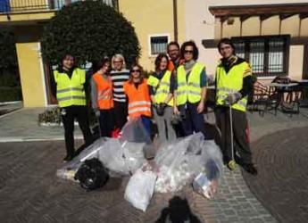 Gatteo. Impegno civico. Per il secondo anno il gruppo 'Gatteo in movimento' ha dato l'esempio pulendo alcune aree della città.