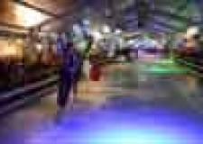 Riccione. Inaugurato il Riccione Christmas Village e aperta la pista di pattinaggio su ghiaccio.