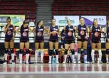 Rimini. Le ragazze del Riviera Volley Rimini perdono tre set a zero in casa contro il Coveme San Lazzaro Vip.