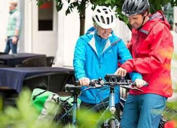 Italia. Milano. Il kit retrofit Nyon di Bosch offre una pedalata elettrica senza paragoni.