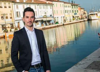 Cesenatico. Elezioni. Matteo Gozzoli presenta la propria candidatura alle primarie del Partito Democratico.