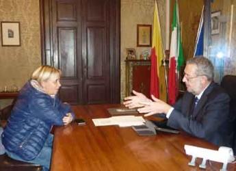 Ravenna. Violenza negli stadi. Il sindaco Matteucci incontra presidente Aia per ribadire il 'no' alla violenza negli stadi.