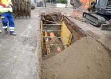 Rimini. Coriano. Hera: lavori in corso sulla rete fognaria. Ricostruzione di un tratto di rete bianca e sostituzione di un tratto di rete nera.