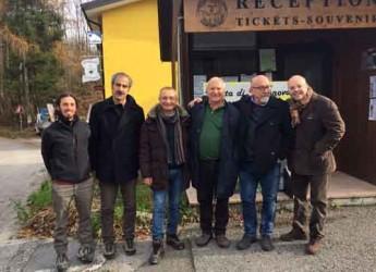 Gemmano. Le grette di Onferno in Friuli per il rilancio. Vertice tra i sindaci delle città italiane con grotte carsiche.