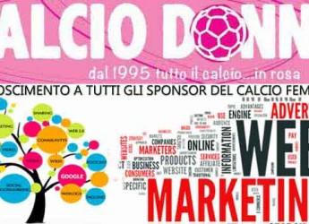 Italia. Calciodonne, il portale del calcio al femminile, promuove la ricerca di sponsor attraverso il web.