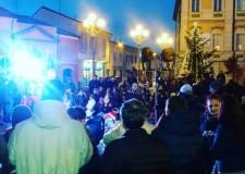 San Mauro Pascoli. Successo per la prima domenica del Villaggio di Babbo Natale in piazza Mazzini.