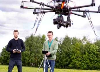 Ravenna. Tutto pronto per l'inaugurazione del primo negozio italiano di droni e smart mobility.