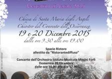 Brisighella. 'Natale nel Chiostro', prima edizione del mercatino di Natale in un luogo suggestivo.