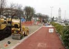 Rimini. La rete ciclabile di Rimini si allunga di altri due chilometri: lavori ormai conclusi in via Saffi e nella zona del porto canale.