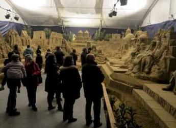 Rimini. Il Presepe di Sabbia piace, richieste di visite anche dall'estero. Grandi numeri per la settima edizione.
