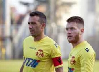Ravenna. Calcio. Quarto pareggio per il Ravenna FC con il Romagna Centro. Il rigore di capitan Innocenti non basta.