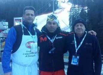 Riccione. Pesce e piadina per la Coppa del Mondo di sci in Valtellina. Ospite d'onore Kristian Ghedina.