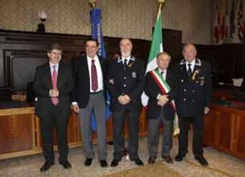 Ravenna. Riconoscimenti per il 19° raduno nazionale a Ravenna dell'Associazione Nazionale Marinai d'Italia.