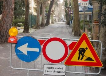 Cervia. Lavorii pubblici. Cantieri in varie aree della città per interventi di asfaltatura e sistemazione.